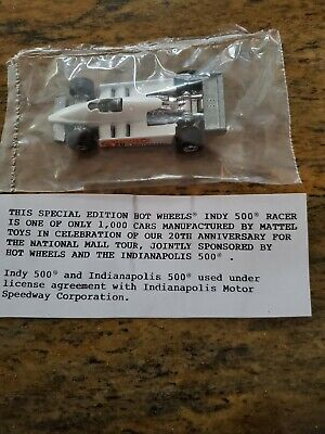 Hot Wheels 1982  Indy 500 Rare Promo Car.. only 1,000 manufactured