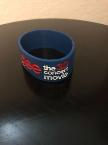 Glee the 3D concert movie  Silicone Rubber Wristband Bracelet