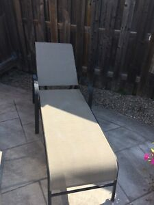 Chaise lounge outdoor