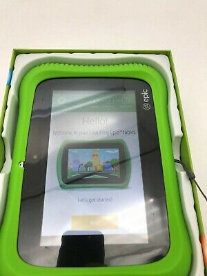 LeapFrog Epic Academy Edition: Ages 3-9 | Green Case (Toy337)