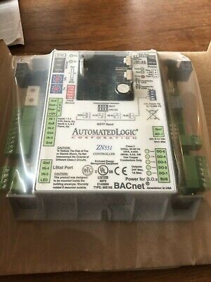 Automated Logic Zn551 Bacnet Stand Alone Control Module New Alc Controller