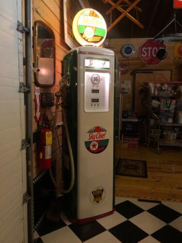 Sky chief gas pump restored