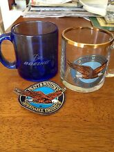 Aviation beer mugs and patch Bulimba Brisbane South East Preview