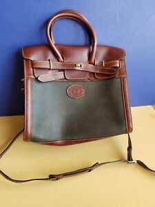 La Martina Saddlery Polo Argentina Purse tote Bag Leather Crossbody Shoulder