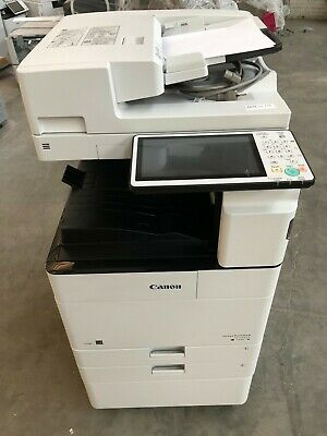 Canon Ir Adv 4535i Low Meter 224k Duplex Document Feed 2 Drawers Network Scan