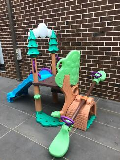 Little Tikes 1,2,3 Climber, See Saw & Slide Play Equipment