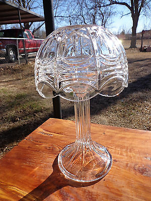 Royal Limited Crystal 24% Full Lead Crystal Lamp~Made In The Czech Republic
