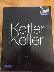 Marketing Management Text Book - Kotler Stafford Heights Brisbane North West Preview