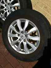 Honda crv genuine set of 4 allow wheels R 17 Madeley Wanneroo Area Preview