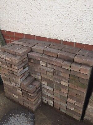 Block Paving. Marshall Rustic Standard Blocks 8sq metres.