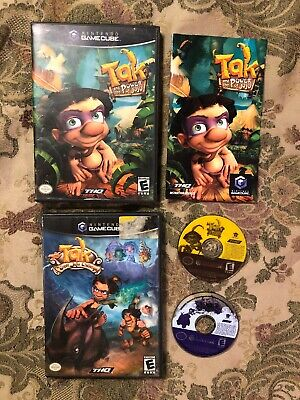 Tak and the Power of Juju & The Great Juju Challenge (Nintendo GameCube,