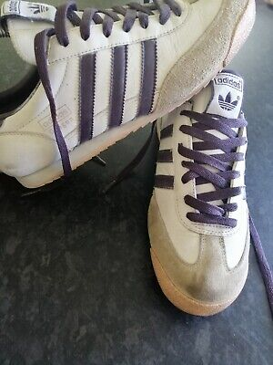 Adidas Dragon Trainers Size 7 White leather
