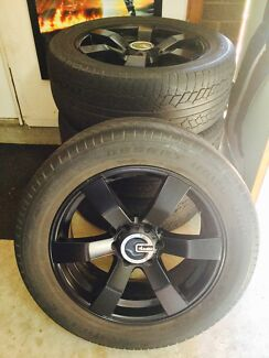 """20"""" Wheels and tyres suit 4WD"""