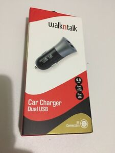 Walkntalk Car Charger Dual USB Seven Hills Blacktown Area Preview