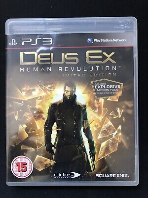 Deus Ex Human Revolution PS3 Game PAL Playstation for sale  Shipping to Nigeria