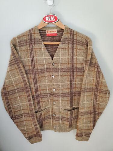 Vintage Jantzen Mohair Cardigan Cobain Sweater Grunge Men