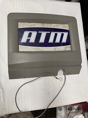 Triton Atm Lighted Topper Grey Used. Working Condition