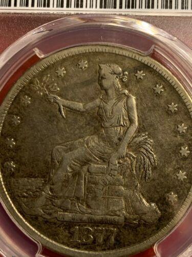 1877 S Trade Dollar Graded VF30 by PCGS