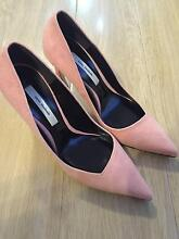 New women high heel leather shoes pink Rhodes Canada Bay Area Preview