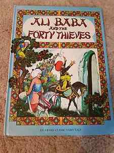 Ali Baba and the Forty Thieves Storybook Nuriootpa Barossa Area Preview