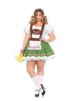 Leg Avenue Oktoberfest Sweetie Peasant Dress Beer Garden Maid Plus Size Costume  Leg Avenue Garden