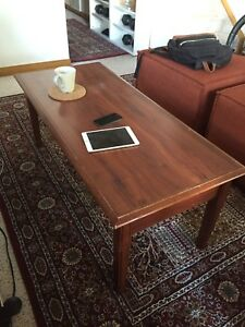 Solid Oak Floor Table / Coffee Table