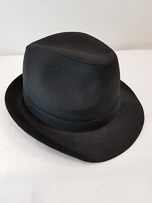 Fedora Hat Gangster Dance Costume Halloween Jazz Tap Adults New Clearance