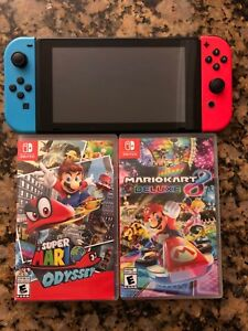 Nintendo Switch 3 months old.