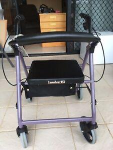 Walker- 4-wheeled/purple