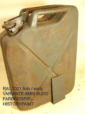 RAL7021 FARBE WEHRMACHT NACHTGRAU DUNKELGRAU ab 1937 KDF AMBI LACK 1kg VARIANTE