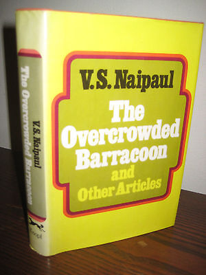 1St Edition Overcrowded Barracoon V S  Naipaul Nobel Prize First Printing