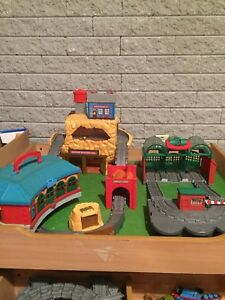 Smaller train table, Thomas the trains and tracks
