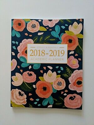 2018-2019 Academic Planner Weekly And Monthly: Calendar Schedule Organizer an...
