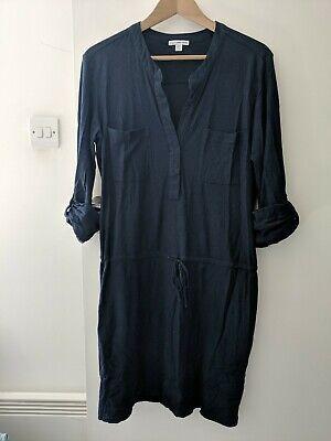 James Perse Jersey Dress Navy Size 3
