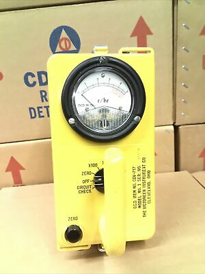 Victoreen Cdv-717 Mod. 1 Radiation Detector Not Working-parts Only 25806