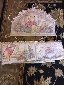 Whinnie the pooh bumper pads