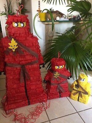 Lego Ninjago Movie Pinata (Red, Blue, Green) 36x18x12in