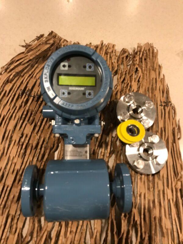 "1/2"" Rosemount 8705 150# Magnetic Flow Meter 2013 N # 8705TSA00553MON6B3Q4"