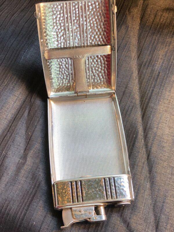 Vintage Evans Trig-A-Lite Cigarette Case/Lighter Combo