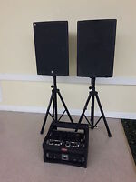 SPEAKERS & SOUND SYSTEMS FOR ALL YOUR SPECIAL EVENT NEEDS!