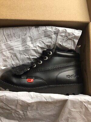 Kicker Kick Hi  School Kids Boots Size 2.5 New With Box