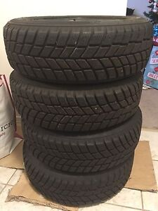 Ecellent Condition Winter Tires 114.3 Bolt Pattern 250obo