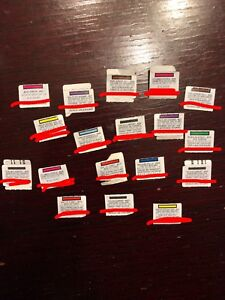 SELLING MCDONALDS MONOPOLY STICKERS