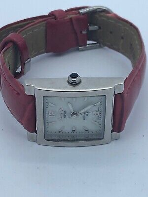 Activa Swiss Ladies Square Quartz Watch  WORKING