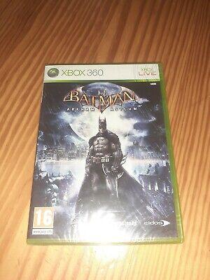 Batman Arkham Asylum Xbox 360 Pal España Precintado  segunda mano  Güimar