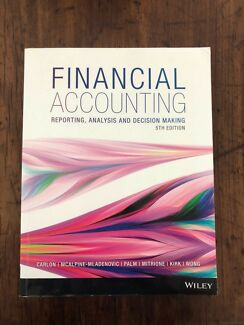 Financial Accounting by Carlon, Mcalpine-Mladenovic, Palm etc.
