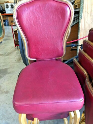 Poker chairs Gasser brand (Used) (LOT of 10 ea)