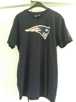 New England Patriots NEW ERA T-shirt.  Navy. Size Medium