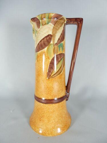 Antique Art Deco Wadeheath Tall Jug Pitcher Vase Pottery England Wade Heath
