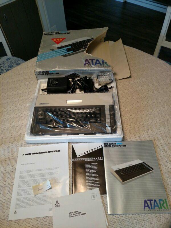 The Atari 800xl Home Computer